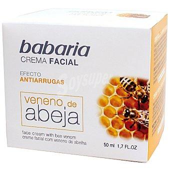 Babaria Crema antiarrugas con veneno de abeja Tarro 50 ml