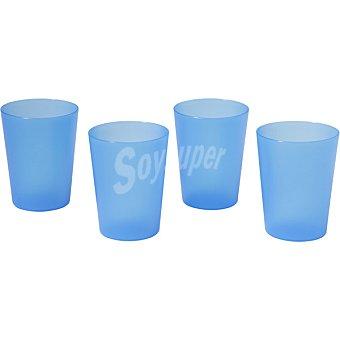 Dombi Set 4 vasos en color azul