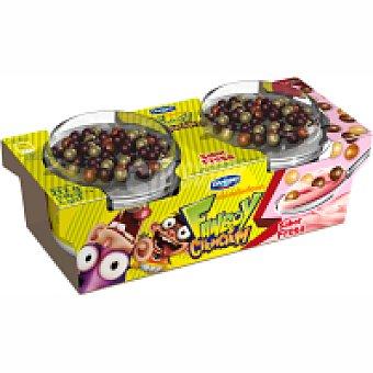 Danone Diver mix fresa Pack 2x108 g