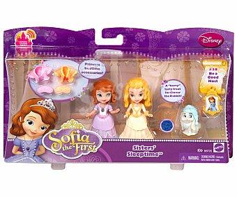 DISNEY Pack de 2 Figuras de Princesa Sofia Fiesta 1 Unidad