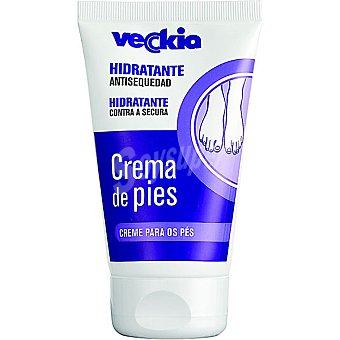 Veckia Crema hidratante antisequedad de pies Tubo 125 ml