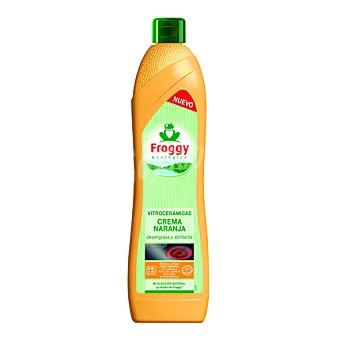 Froggy Limpia vitrocerámica naranja Botella 650 ml