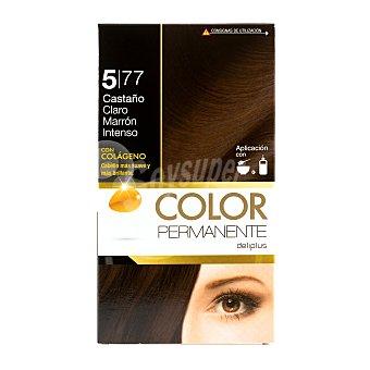 Deliplus Tinte coloracion permanente Nº 5,77 castaño claro marron intenso u