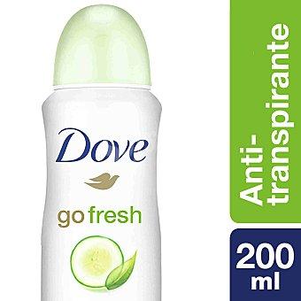 Dove Desodorante Go Fresh sin alcohol Spray 200 ml