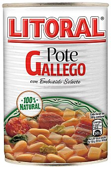 Litoral Pote Gallego 430 g