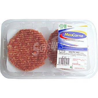 MASCARNE Hamburguesas de vacuno Burger Meat bandeja 650 g 6 unidades