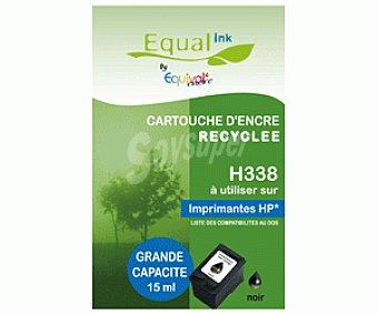 Equalink Cartuchos Reciclados de Tinta H338 Negro 1u