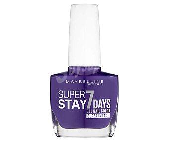 Maybelline New York Esmalte de uñas tono 887 Super stay 7 days