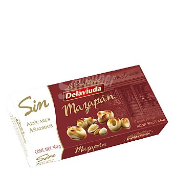 Delaviuda Mazapán sin azúcares 160 g