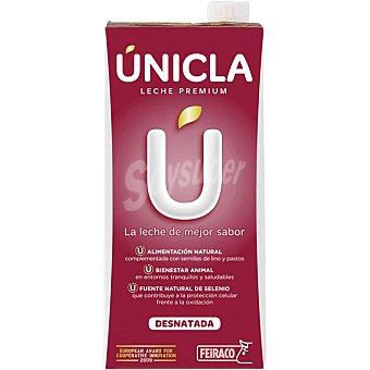 Feiraco Leche desnatada UHT Unicla Envase 1 l