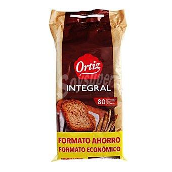 Ortiz Pan tostado integral 80 g