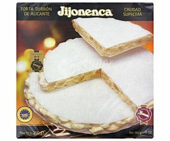JIJONENCA Torta de turrón duro de Alicante 200 gramos