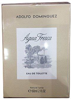 Adolfo Domínguez Eau toilette hombre agua fresca vaporizador Botella de 60 cc