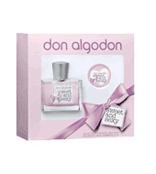 Don Algodón Estuche Colonia swe&sex 50 ml vaporizador + lipb balm 15 ml 1 ud