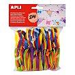 Bolsa de 120 números de goma eva de diferentes colores apli  APLI