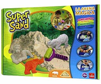 Goliath Juego para Moldear y Crear con Arena Mágica Super Sand Animales, 1 Unidad