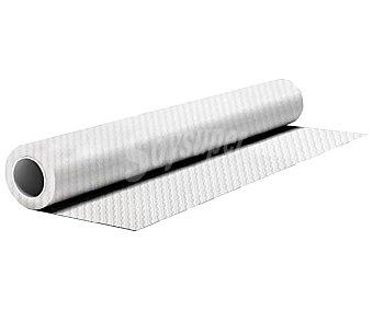 Rollo de mantel desechable, color blanco, impermeable, 1,20x8 metros macadamia