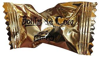 Antiu Xixona Surtido granel bolita coco (bañadas con chocolate) *navidad* 20 g peso aprox. unidad