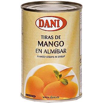 Dani Tiras de mango en almíbar Lata 220 g neto escurrido