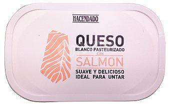 Hacendado Queso untar blanco C/ salmon Tarrina 200 g
