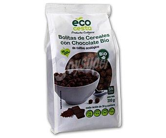 Ecocesta Bolitas de Cereales con Chocolate Ecológ Bolsa 400 gr