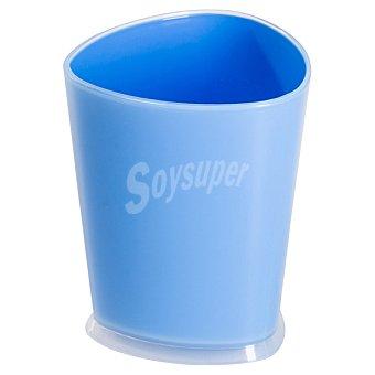 QUO Vaso para baño en color azul 1 Unidad
