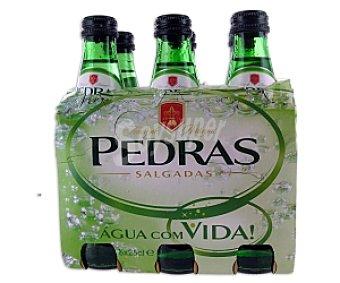 PEDRAS Agua Mineral Natural Pack 6 Unidades de 25 Centilitros