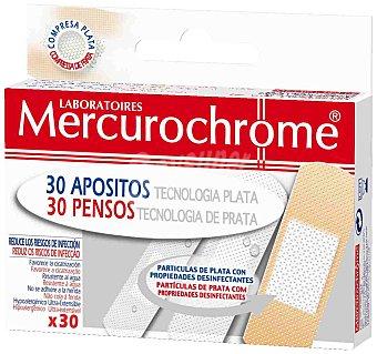 Mercurochrome Apósitos Multi-uso Tecnología Plata Mercurochrome 30 ud