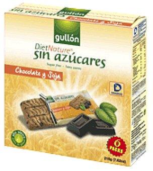 Gullón Galletas de soja y chocolate 216 g