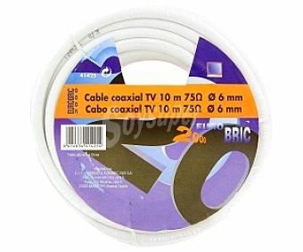 Eurobric 2000 coaxial Cable de 10 metros sin terminales