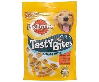 Pedigree Snack de queso y buey para perros 140 gramos