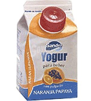 Sandra Yogur líquido c/papaya y naranja 250 ml