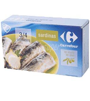 Carrefour Sardina en aceite de oliva 80 g