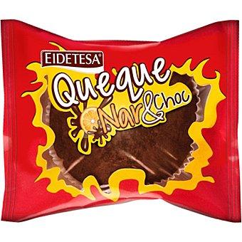 Eidetesa Queque nar&choc de naranja y chocolate Paquete 95 g