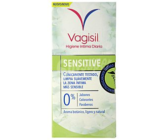 Vagisil Gel para higiene íntima diaria sensitive Botella 250 ml