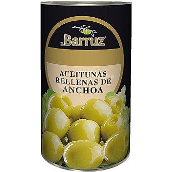 Barruz Aceitunas rellenas de anchoa Lata 150 g neto escurrido