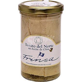 Frinsa Bonito del norte en aceite de oliva Frasco 180 g neto escurrido