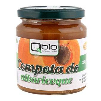 Qbio Compota de albaricoque bio sin gluten 320 g