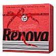 Servilletas 1 capa Red Label 70pz Rojo 70 Ud Renova
