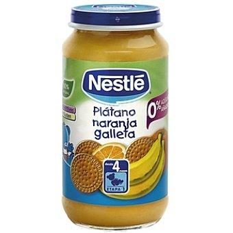 Nestlé Potito platano/naranja/galleta 250 GRS