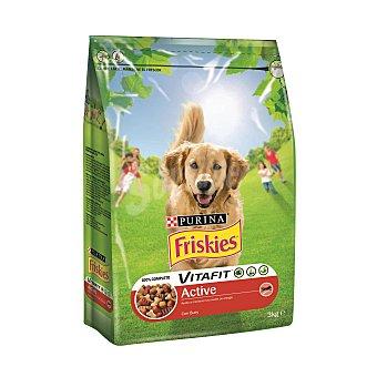Friskies Purina Vitafit Active Perro Adulto con Buey 3 Kg