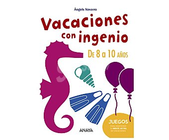 Anaya Cuaderno de actividades Vacaciones con ingenio 2, 8-10 años. Género: actividades, vacaciones, infantil. Editorial Anaya. Descuento ya incluido en pvp. PVP anterior: