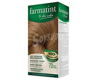 Farmatint Coloración en crema permanente 7D rubio dorado 1 unidad