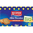 Bio mini biscotes naturales ecológicos estuche 120 g estuche 120 g Recondo