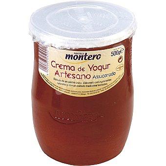 Montero Crema de yogur azucarada Tarrina 500 g
