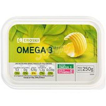 Eroski Margarina Omega 3 Tarrina 250 g