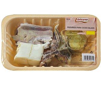 Emcesa Bandeja con preparado salado para cocido, elaborado sin gluten 600 Gramos