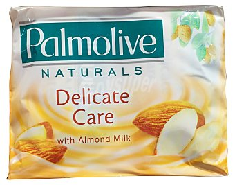 Palmolive Jabon manos pastilla con crema almendras Pack 4 x 90 g - 360 g