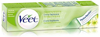 Veet Crema depilatoria piel seca Tubo 200 ml