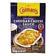 Salsa de queso cheddar Sobre 40 g Colmans
